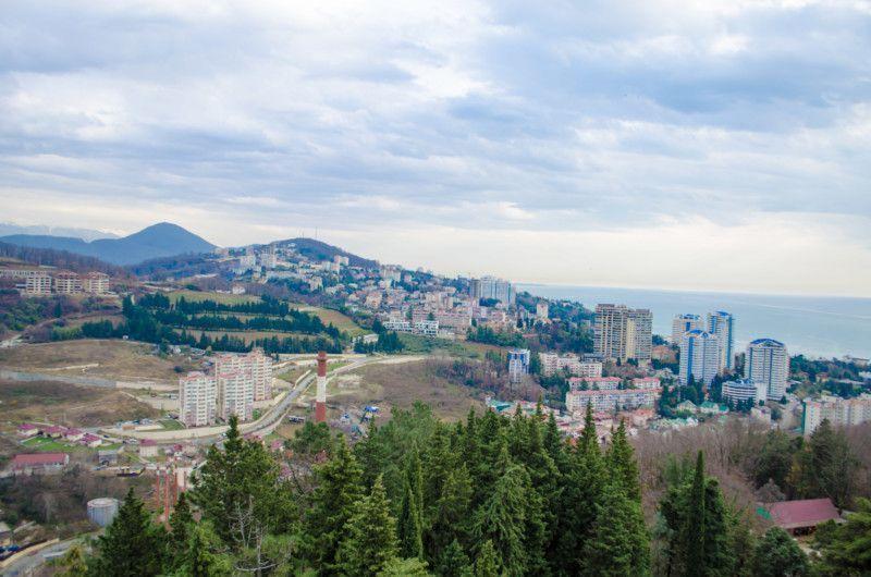 Вид со смотровой площадки верхней башни