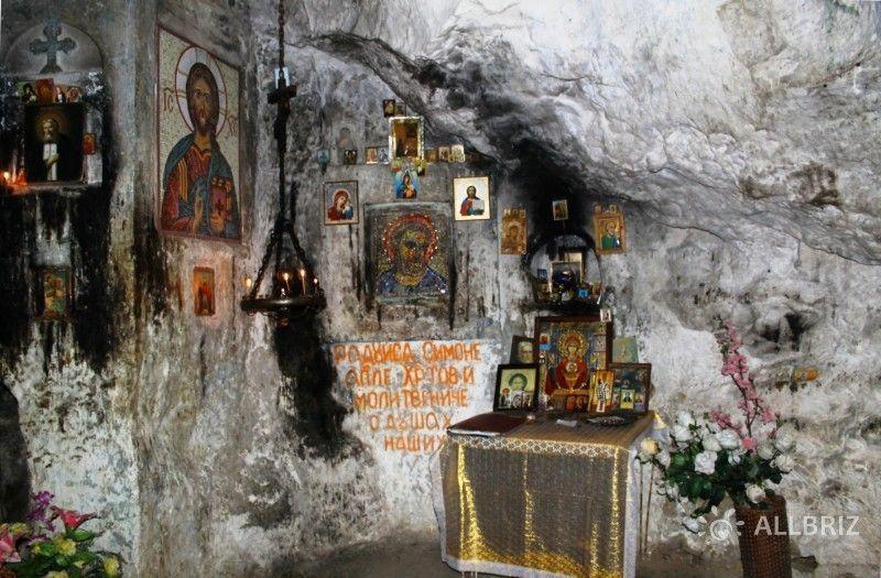 В пещере Симона Кананита
