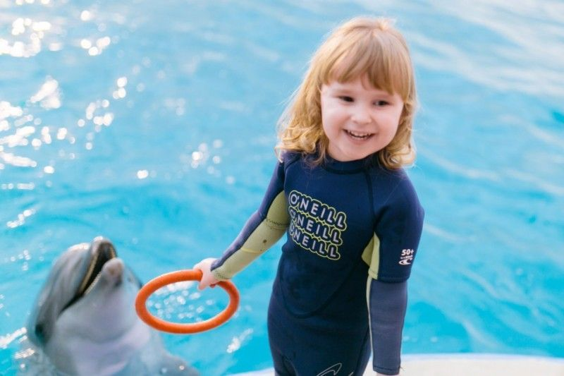Дельфинотерапия в анапском дельфинарии «Немо»