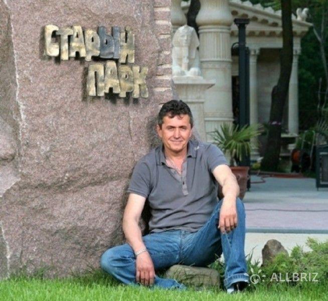 Создатель парка А. Алексеев