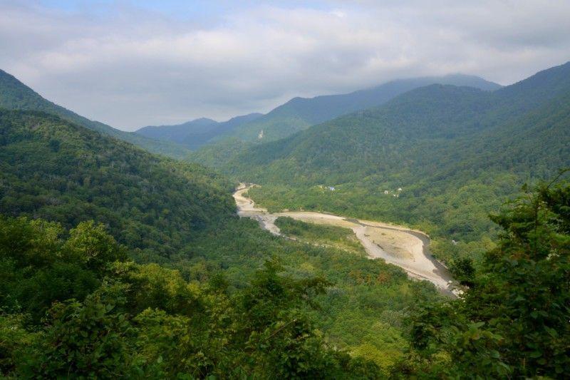 Горная река Псезуапсе