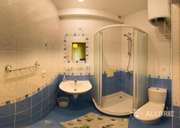 Двухместный с видом на горы - ванная комната