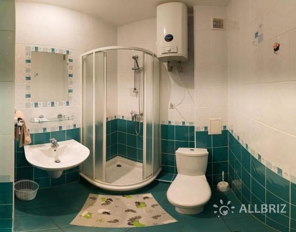 Трехместный с видом на горы - ванная комната
