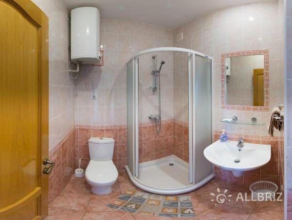 Люкс с видом на море - ванная комната