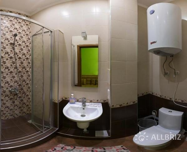 Четырехместный эконом - ванная комната