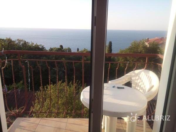 Люкс с видом на море - вид из окна