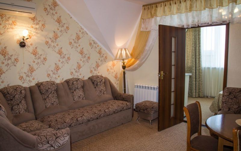 2-х комнатный семейный номер мансарда (без балкона) корпус 4