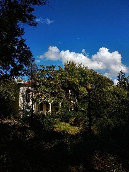 Старинный дом усадьбы