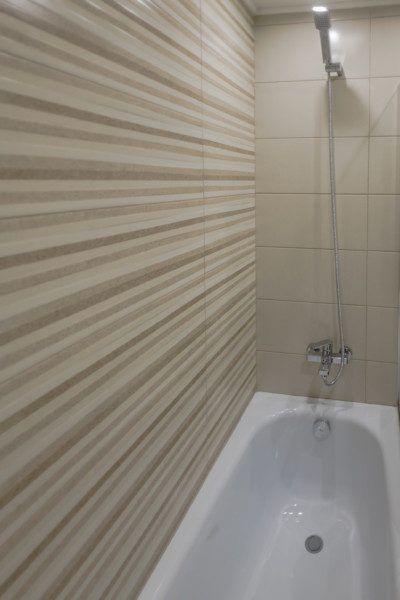 Апартаменты стандарт с кухней и балконом с видом на море (5-11 этаж) - ванна