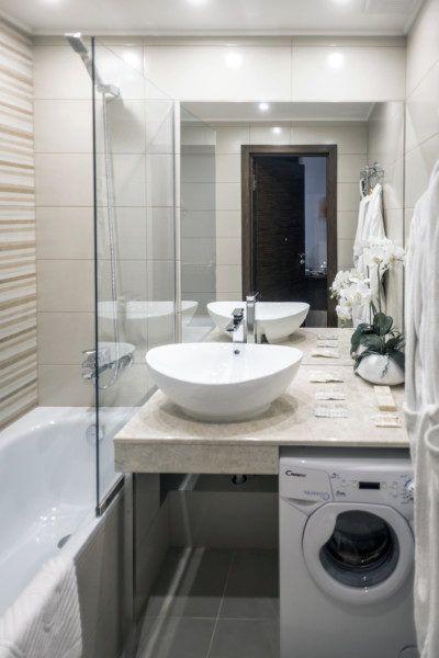 Апартаменты стандарт с кухней и балконом с видом на море (5-11 этаж) - санузел