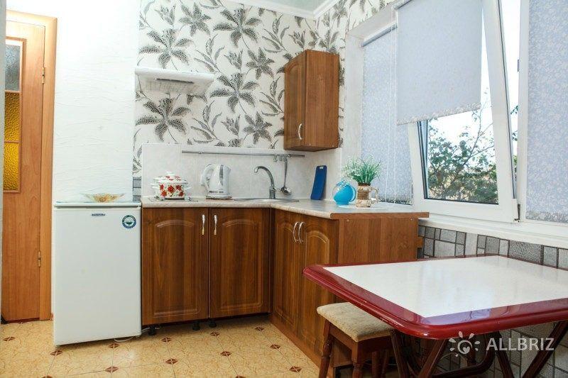 Двухкомнатные апартаменты с кухней