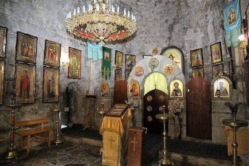 Церковь Абаата внутри