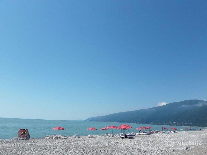 Абхазия частный сектор у моря