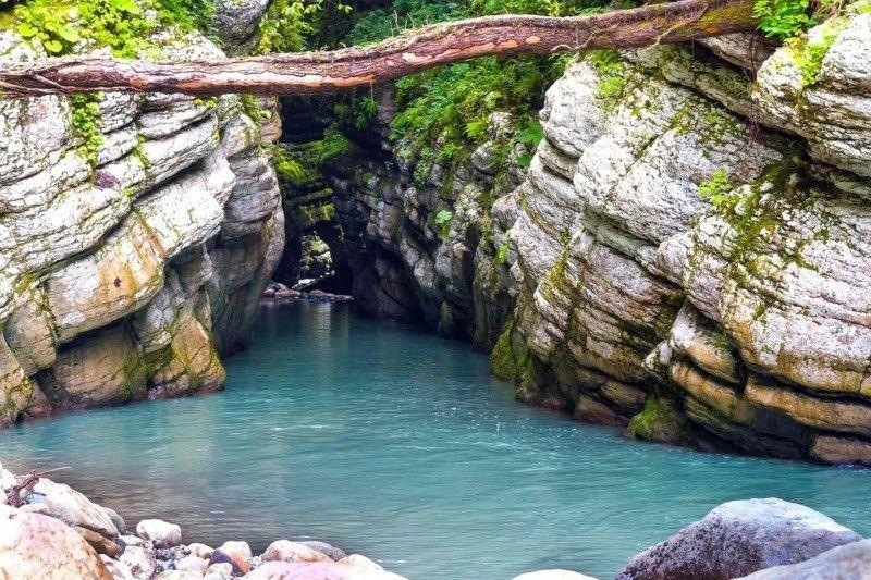 Ущелье реки «Цихерва»