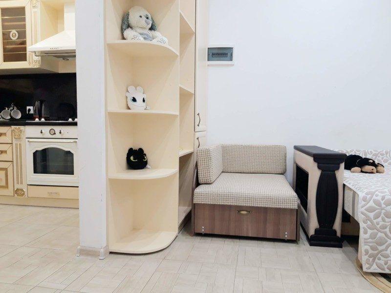 Двухуровневые апартаменты - гостиная