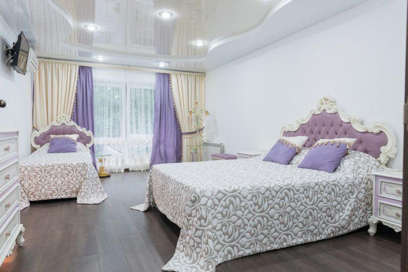 Двухуровневые апартаменты - жилая комната