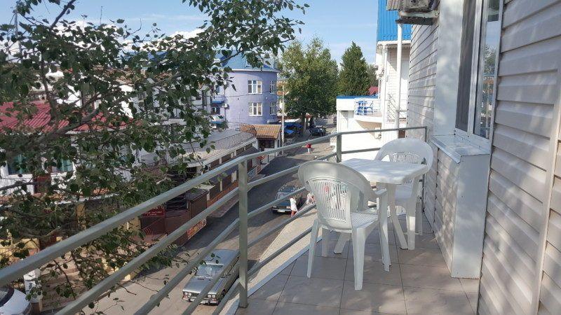 Люкс со смежным балконом с видом на море - смежный балкон на 2 номера