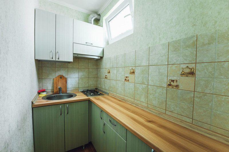 Номер студия с кухней внутри