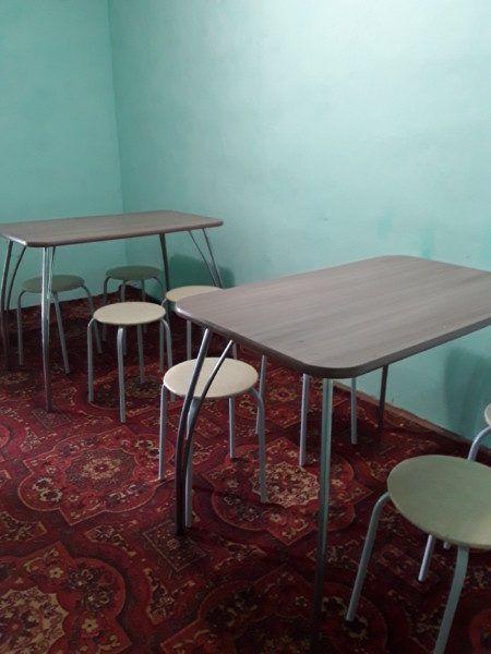 Столовая, две комнаты