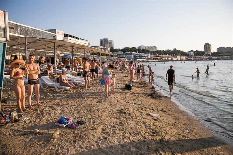 Пляж «Лечебный» в Анапе