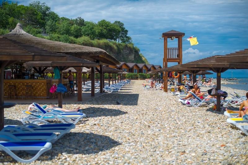 Пляж «Золотая бута» в Анапе